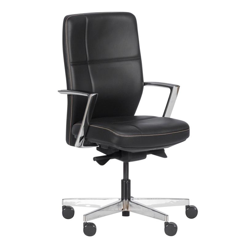 Работен стол SONIA - черен LUX