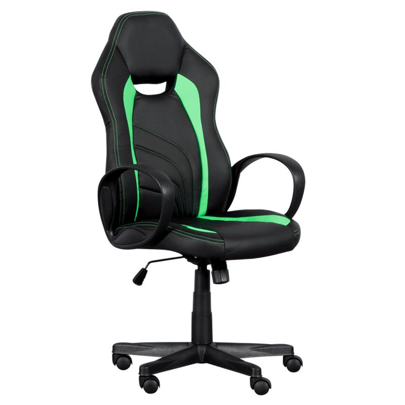Геймърски стол 7525 - черно/зелен