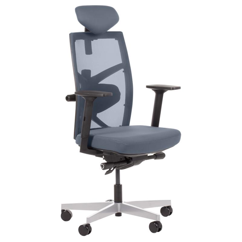 Офис стол-Fredo сив