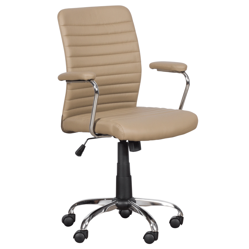 Работен стол 6512 - бежов