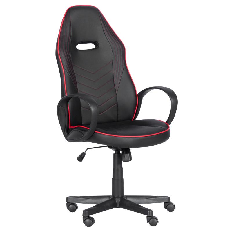 Геймърски стол 7530 - черно-червен