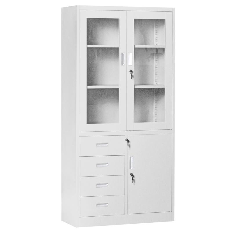 Метален шкаф - CR 1278 E сив
