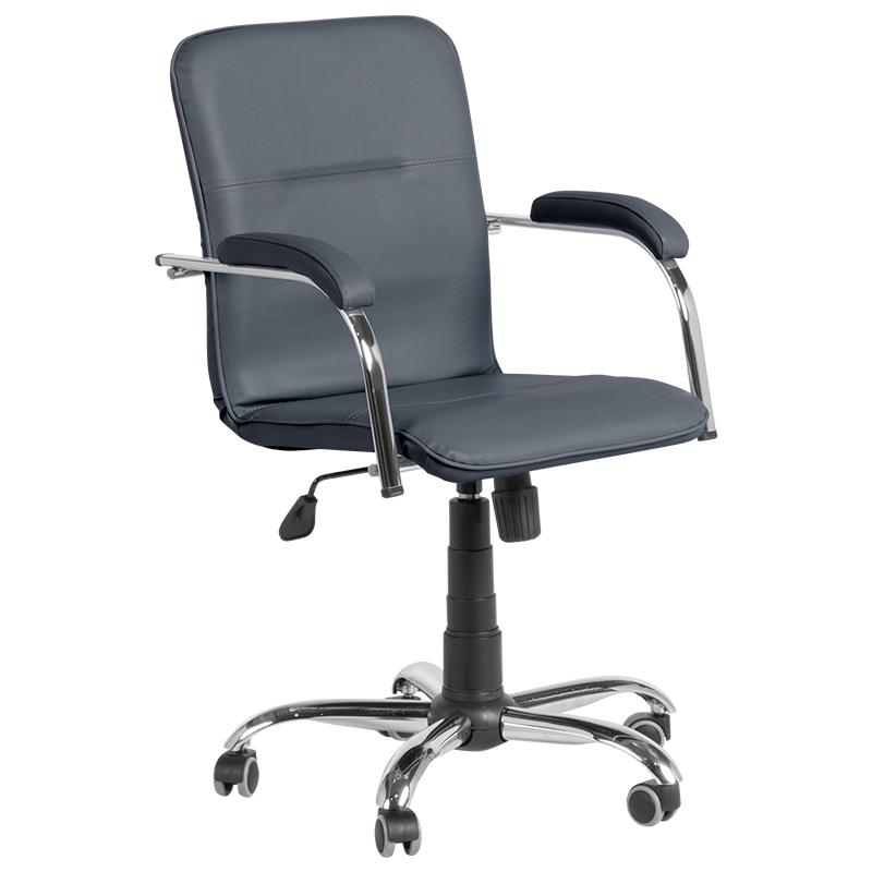 Офис стол Florena - тъмно сив SC
