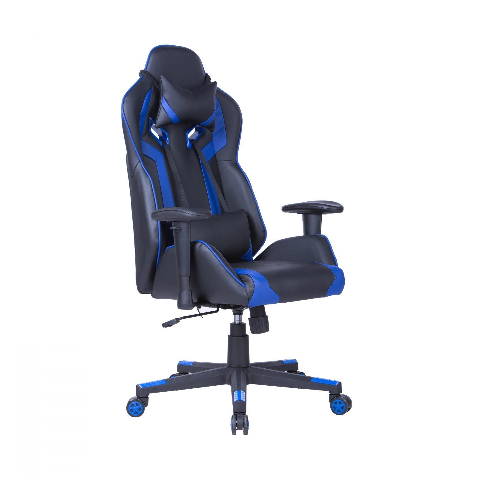 Офис стол - Craft син