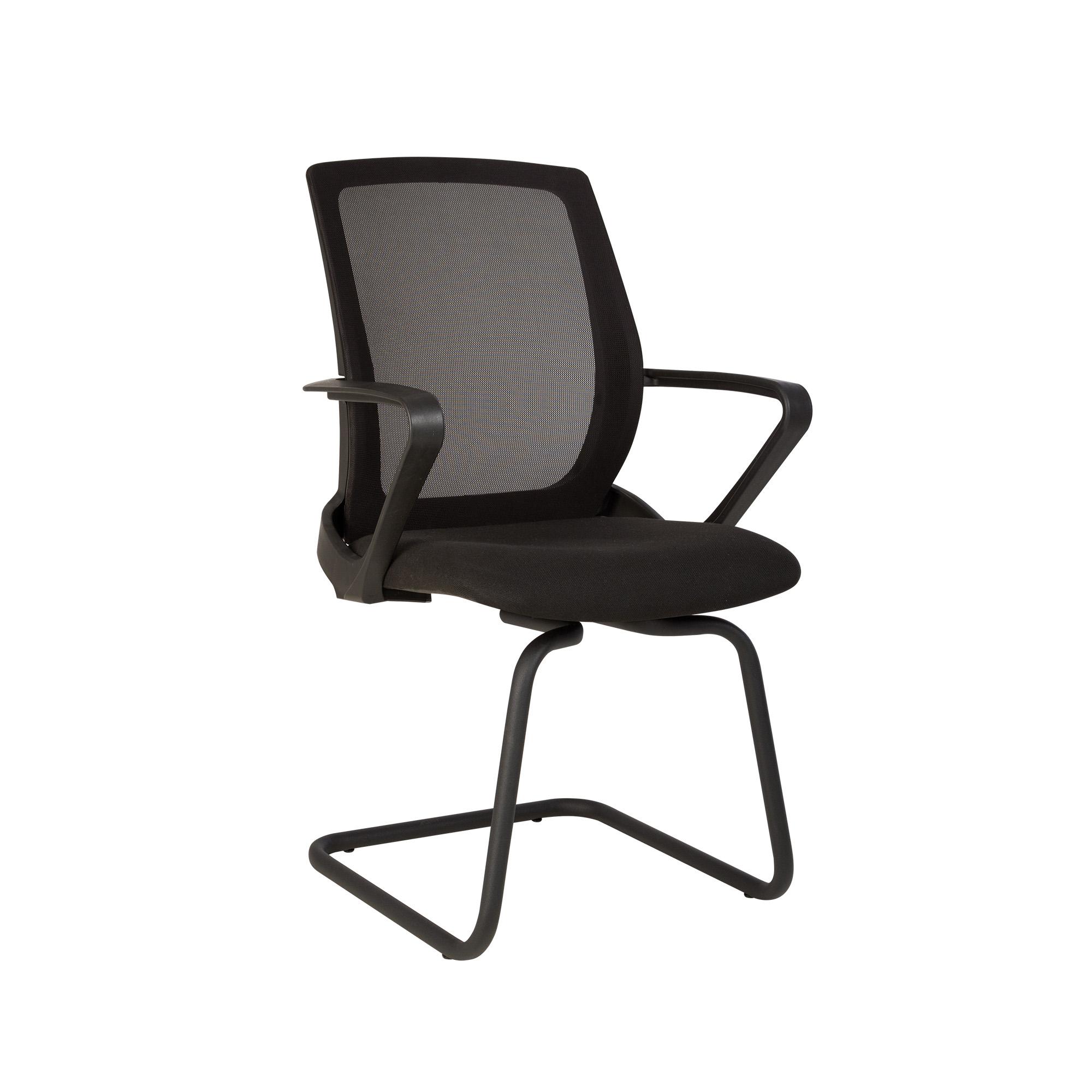 Посетителски стол - Fly CF черен
