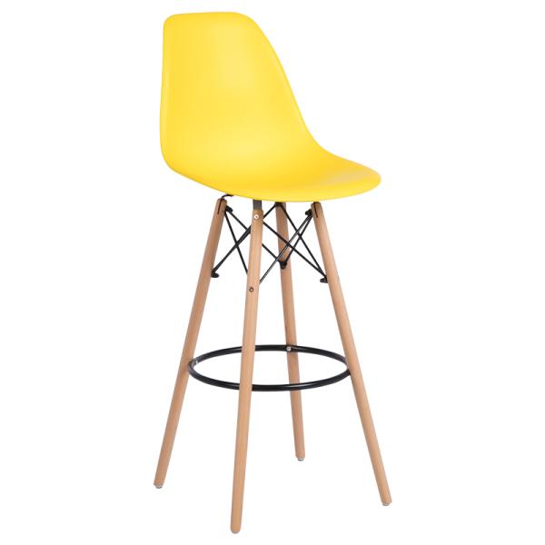Бар стол 3079 - жълт