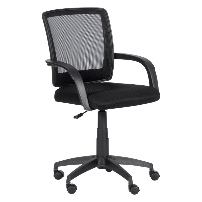 Офис стол - 7056-1 черен