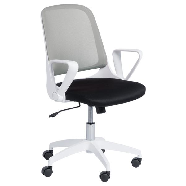 Офис стол - 7033 светло сив/черен