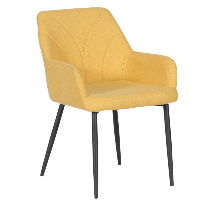 Трапезен стол - 526 жълт