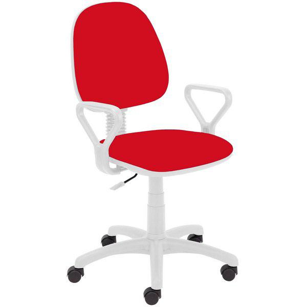Детски стол Regal White-червен