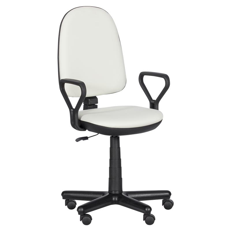 Офис стол - Comfort бял N