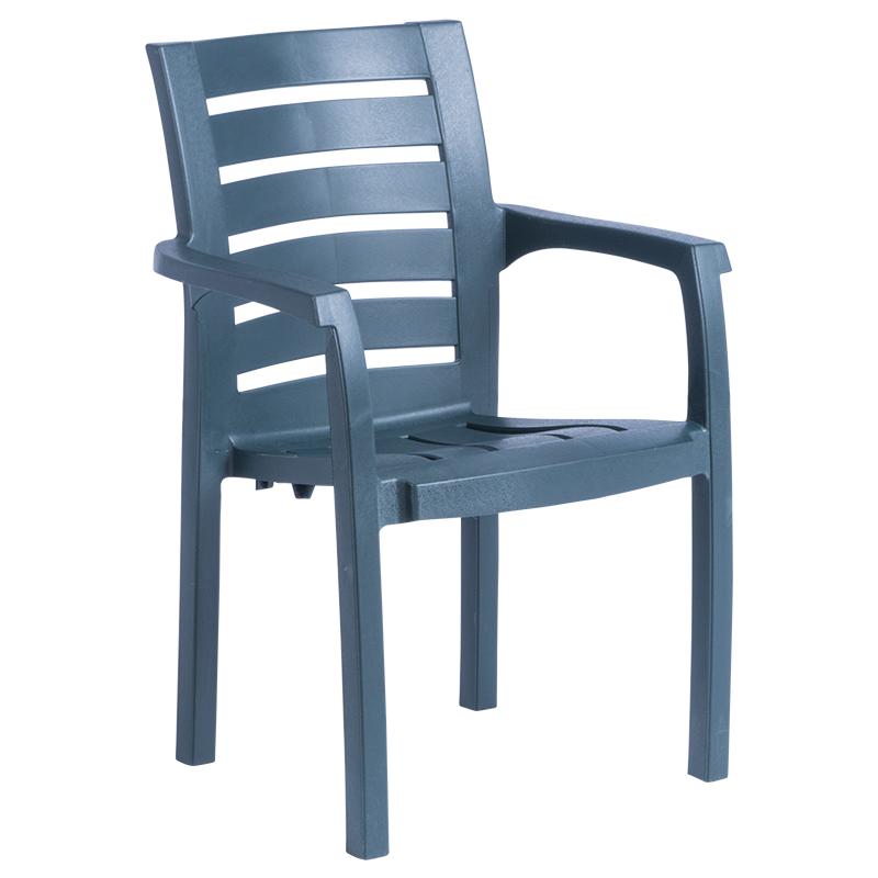 Пластмасов стол HANIMELI - тъмно зелен