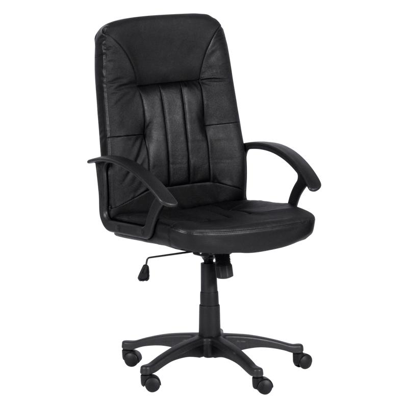 Офис стол - 6080-3 черен