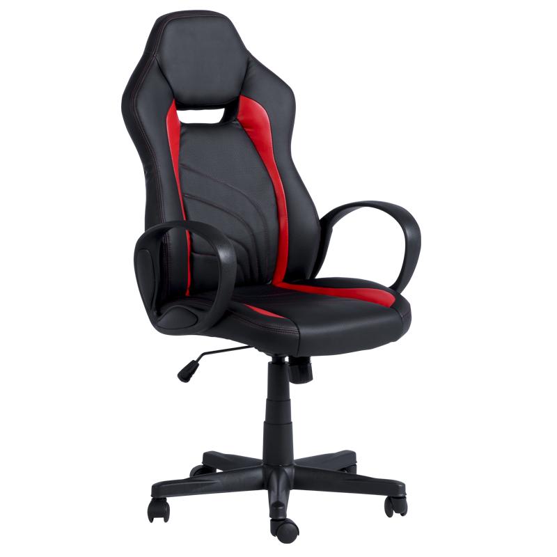 Геймърски стол 7525 - черно/червен