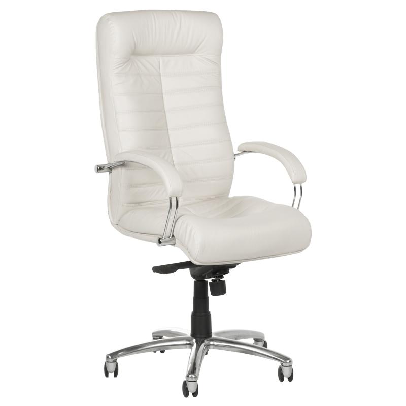 Офис стол-Orion бял LUX