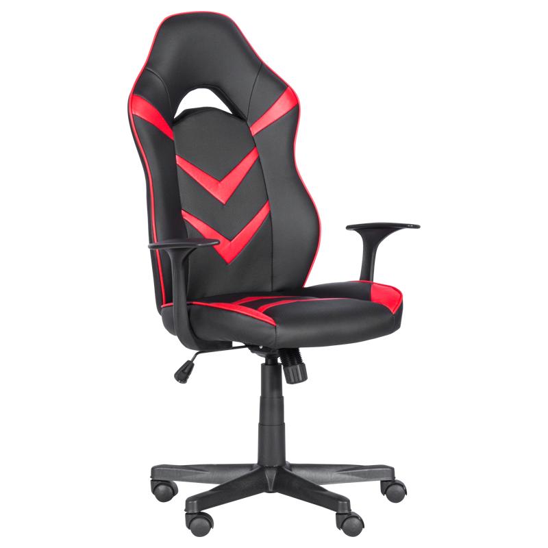Геймърски стол 7531 - черно-червен