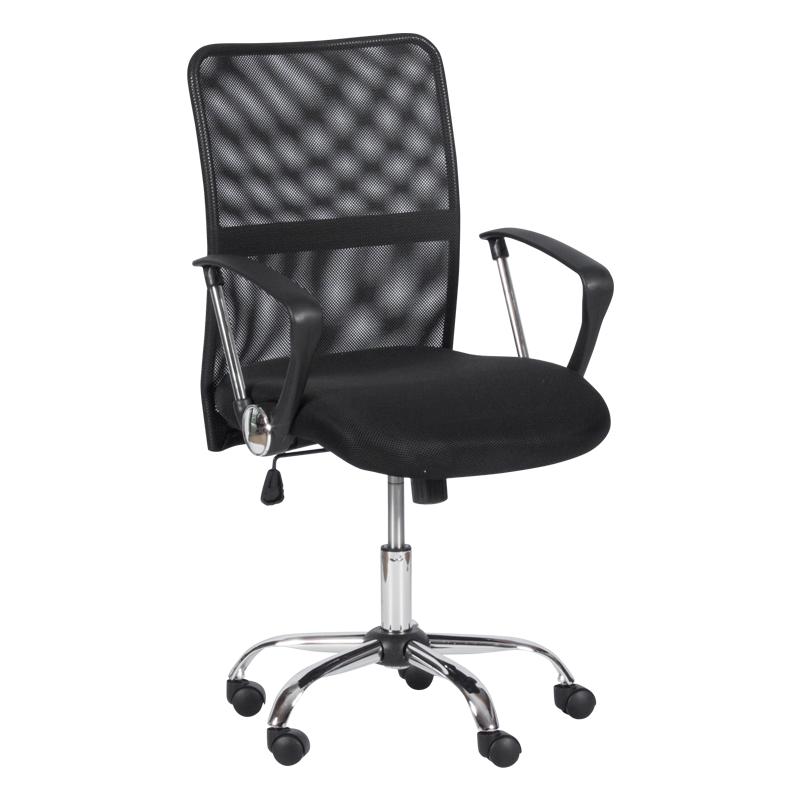Офис стол - 6591-1 черен