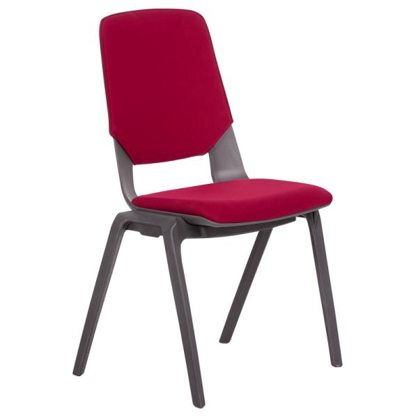 Посетителски стол Limber - червен