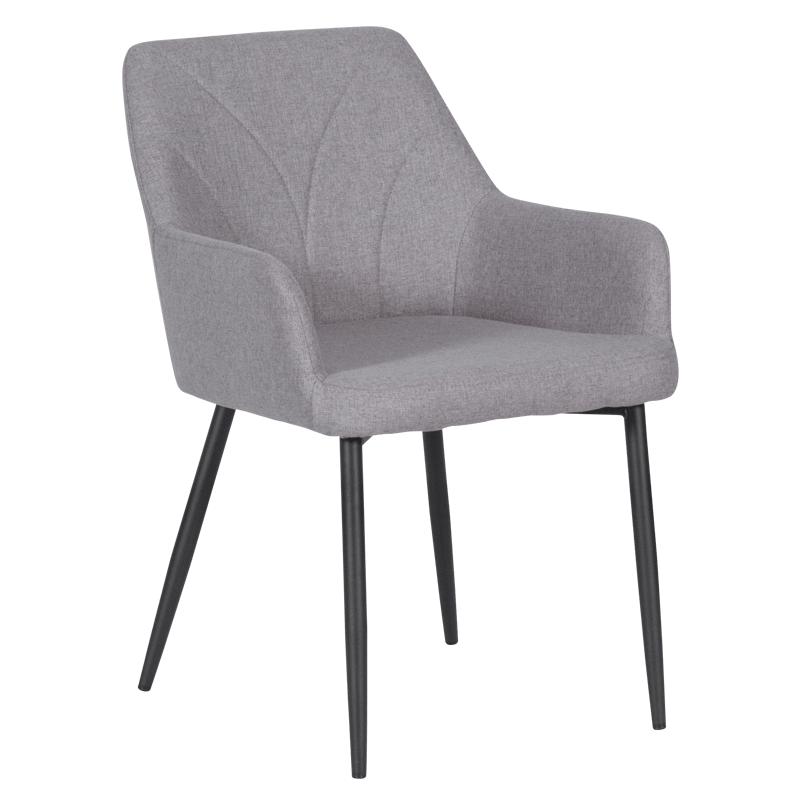 Трапезен стол - 526 сив