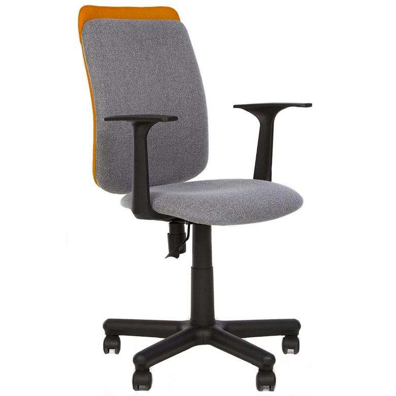 Работен стол - Victory сив/оранжев
