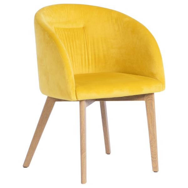 Трапезен стол - 522 жълт
