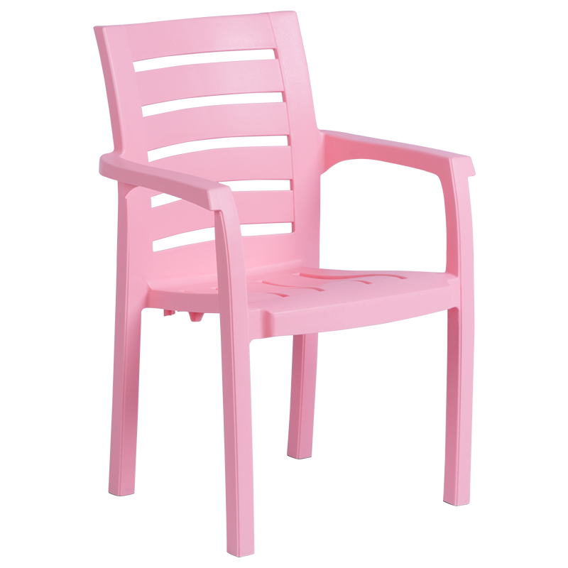 Пластмасов стол RENK - розов