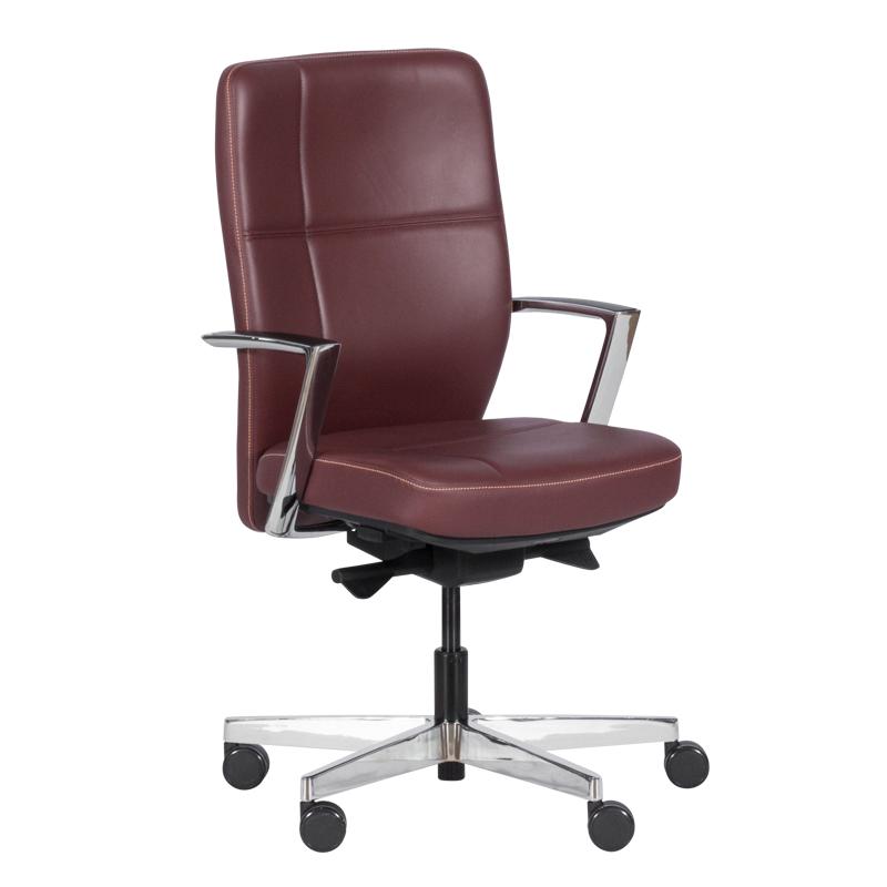 Работен стол SONIA - бордо LUX