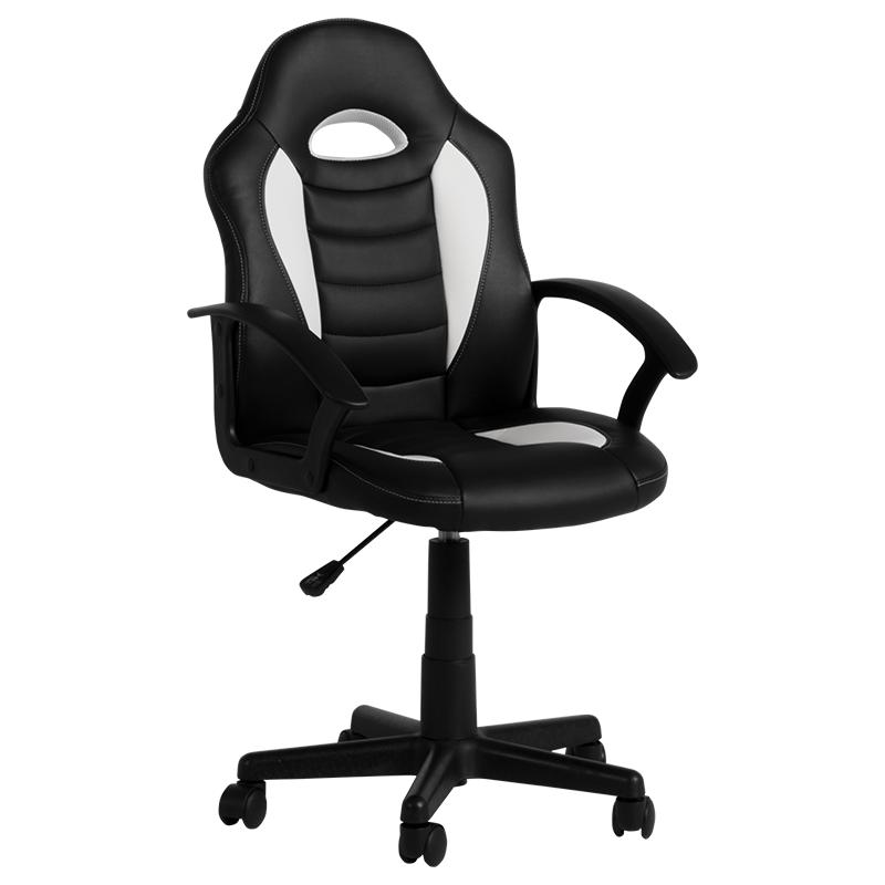 Детски стол - 7526 черно-бял