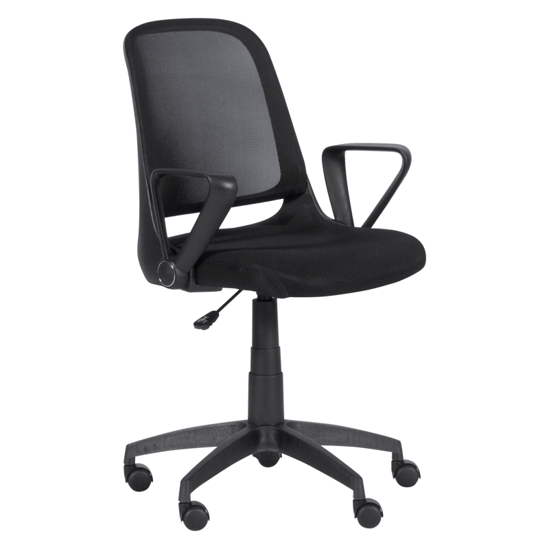 Офис стол - 7033-1 черен