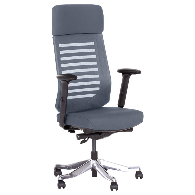 Офис стол-Enrico сив