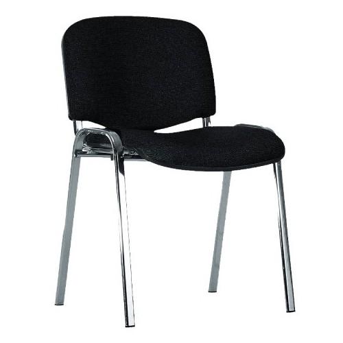 Посетителски стол - Iso Chrome черен