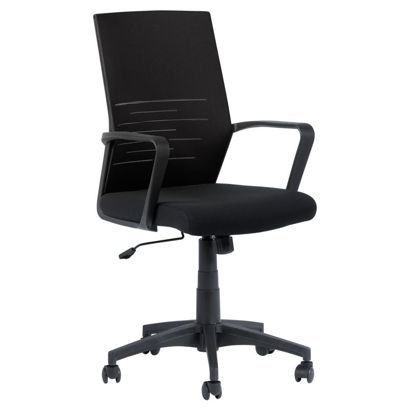 Офис стол 7041 - черен