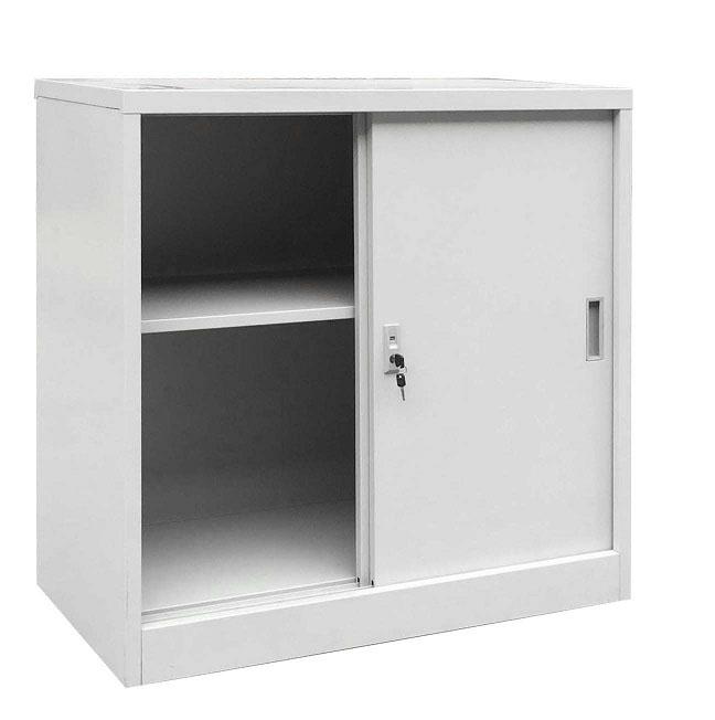 Метален шкаф -  с плъзгащи врати