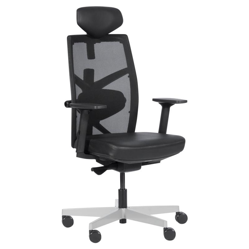 Офис стол-Fredo LUX черен