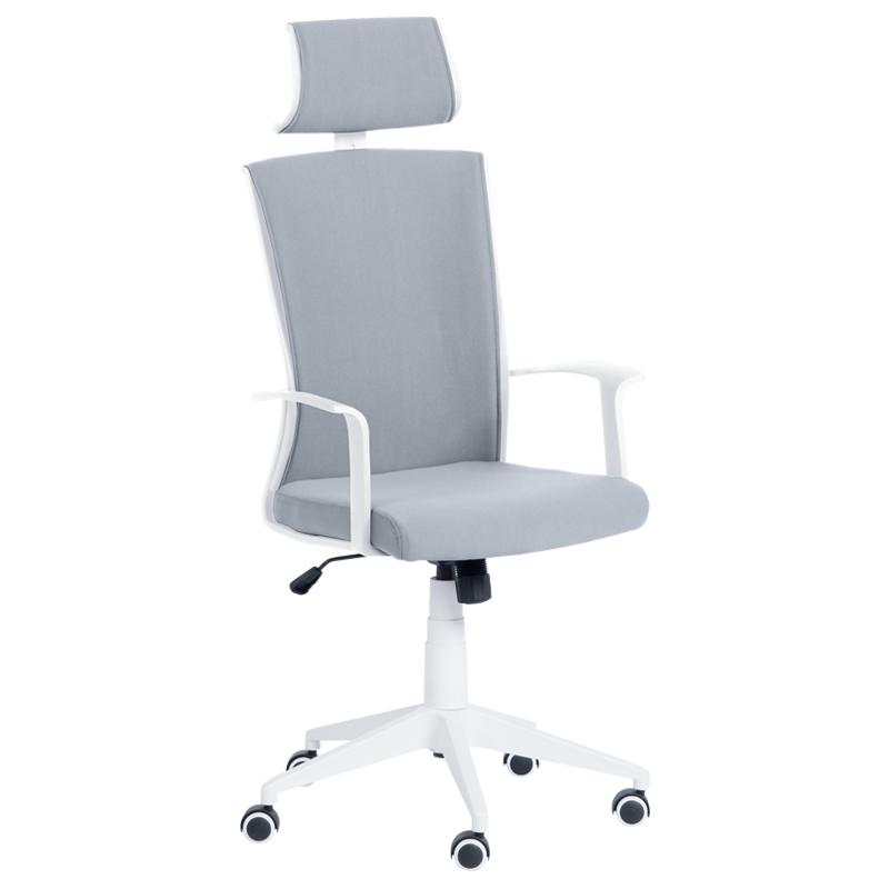 Офис стол 7524 - светло сив