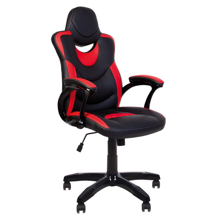 Геймърски стол Gosu - черен/червен