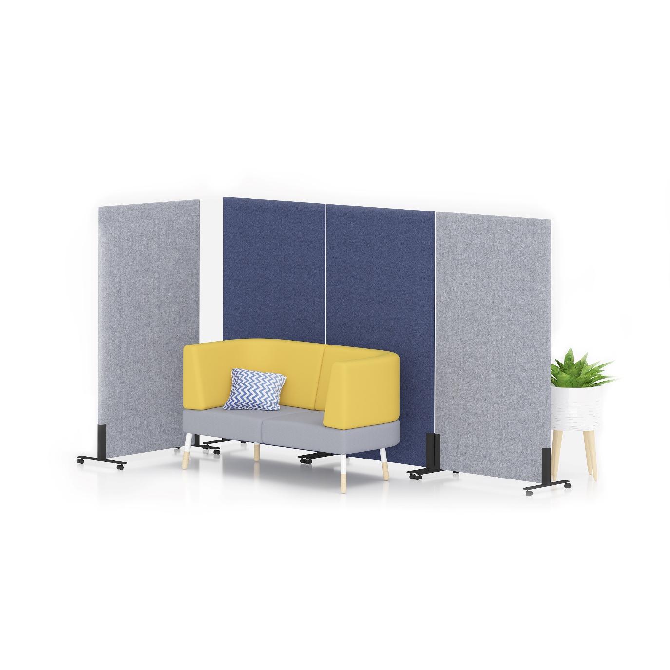 Акустичен стоящ панел - Sileo Wall S1F