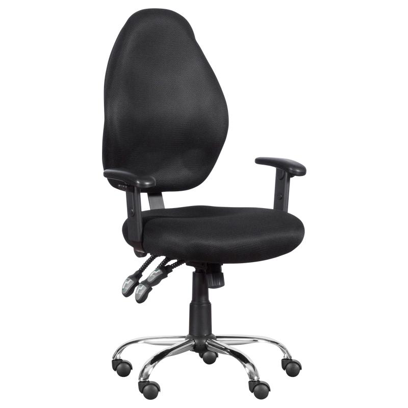 Офис стол - 6299 черен
