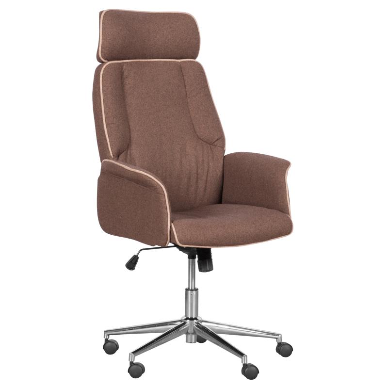 Офис кресло - Barni кафяво