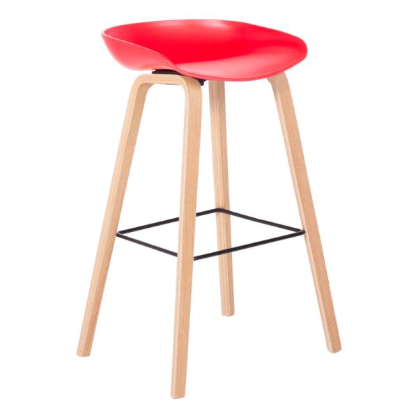 Бар стол - 3078 червен