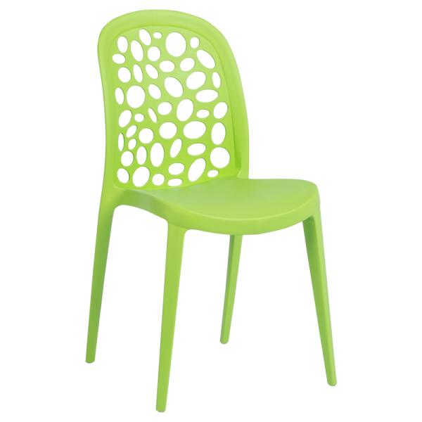 Трапезен стол 9940 - зелен