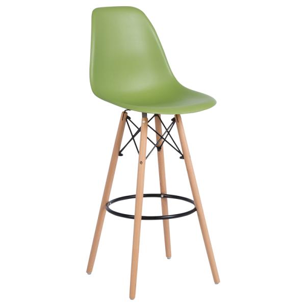 Бар стол 3079 - зелен