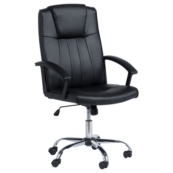 Офис стол 6076-1 - черен