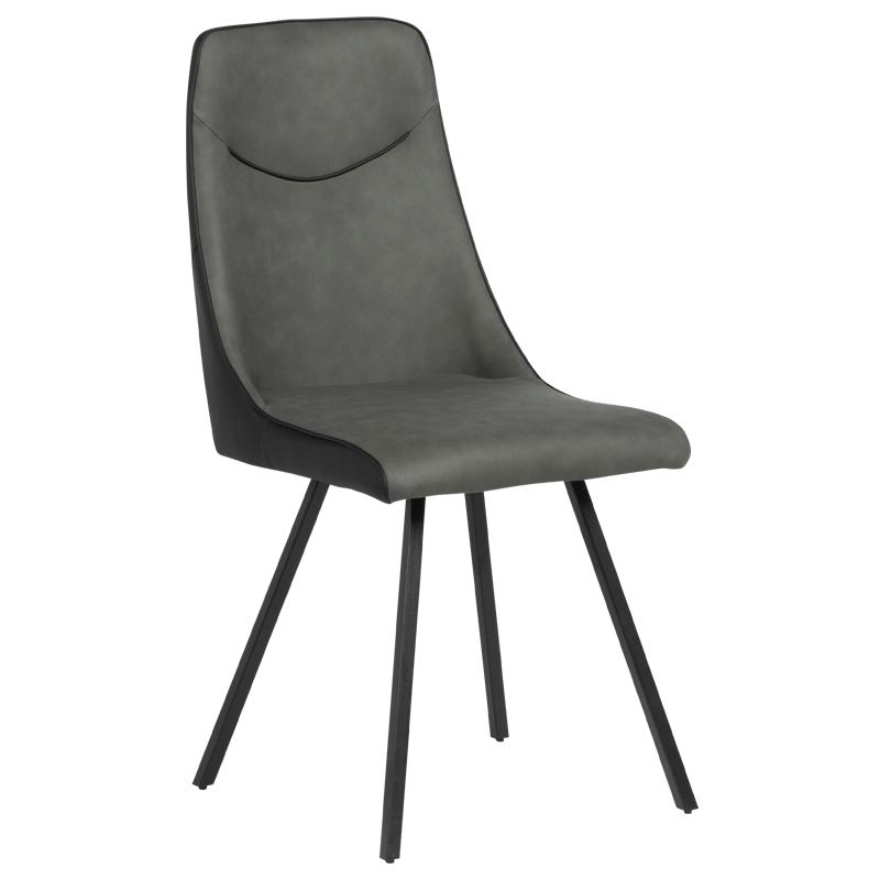 Трапезен стол - Malton тъмносив 2