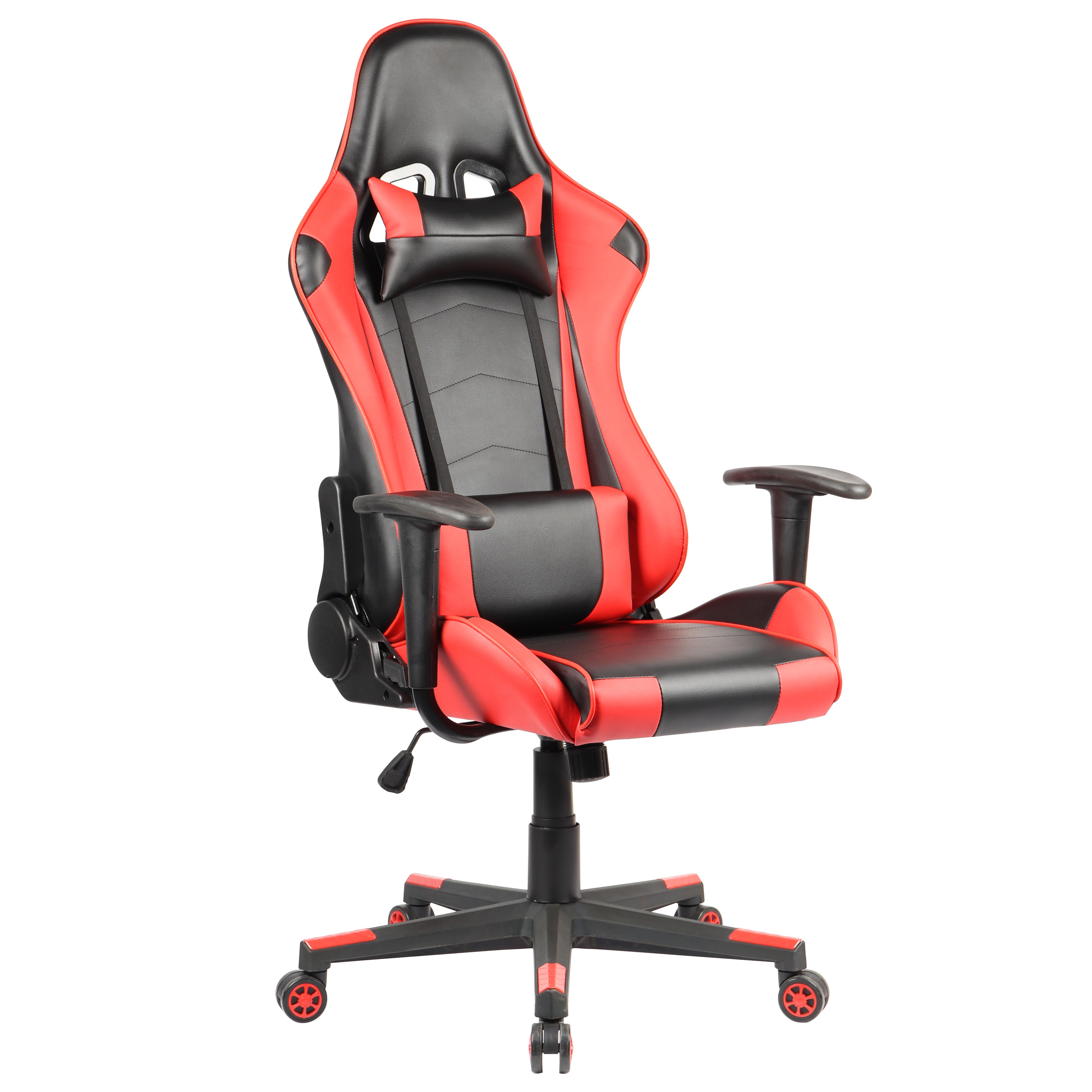 Геймърски стол - Ranger черен/червен
