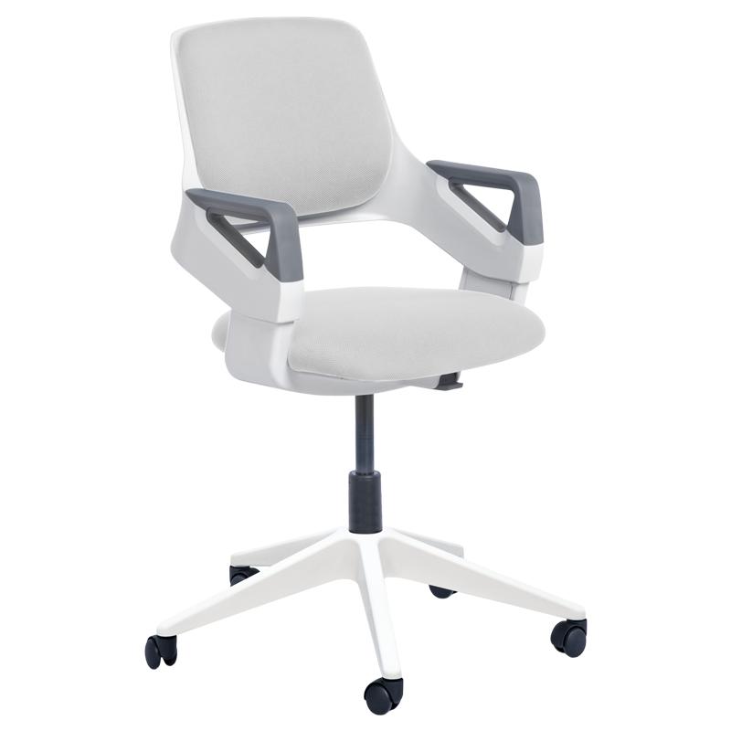 Детски стол - Clever E бял