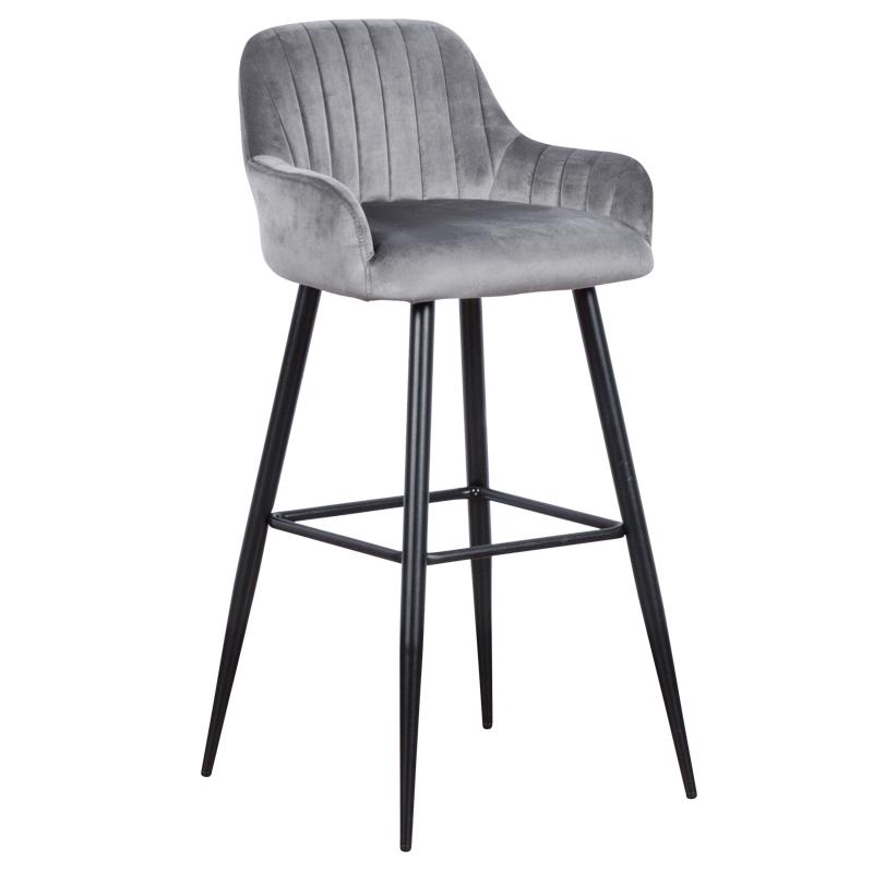 Бар стол - 3083 сив