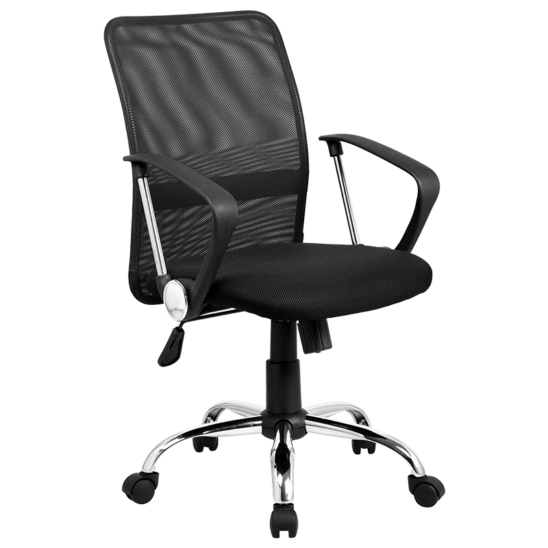 Офис стол 6591 - черен