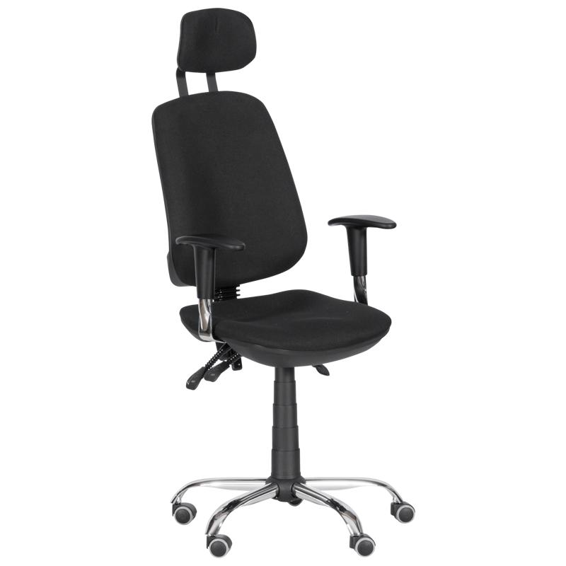 Офис стол - Rugby черен
