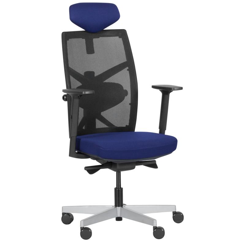 Офис стол-Fredo тъмносин